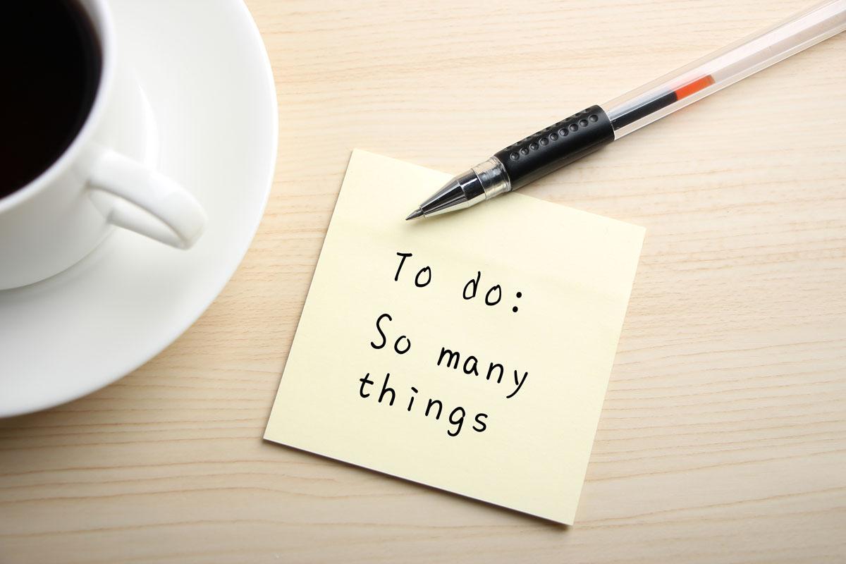 Come organizzare una to do list